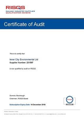 RISQS audit