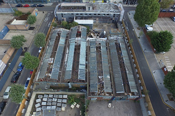 Complete demolition & refurbishment asbestos survey