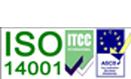 ISO 14001 standards logo