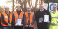 Awarded Kier Supply Chain SHE Award