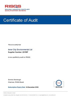 RISQS audit